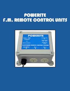 Powerite F.M. Remote Control Systems